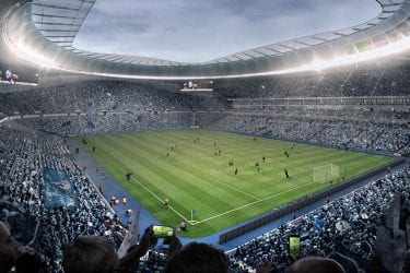 Tottenham Hotspur new football ground