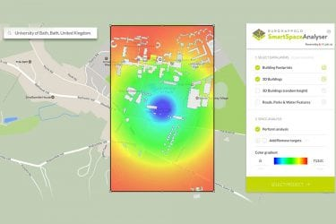 flux .io smart space analyser realtime planning