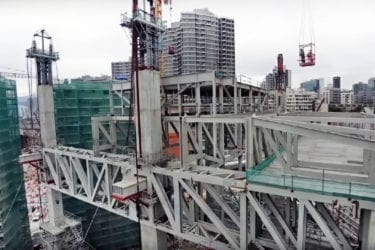 Xiqu roof lift construction