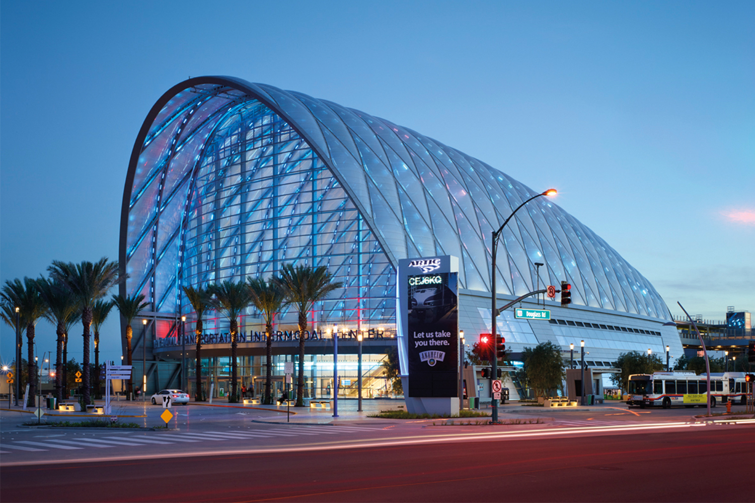 Anaheim Regional Transportation Intermodal Center Artic