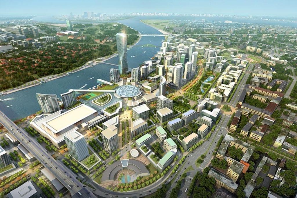 Belgrade Waterfront regeneration project Serbia