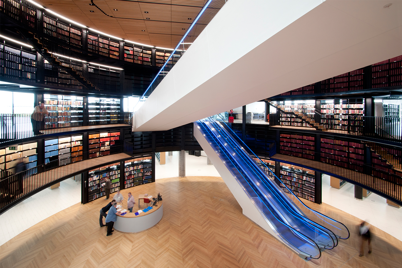 Library of Birmingham interior