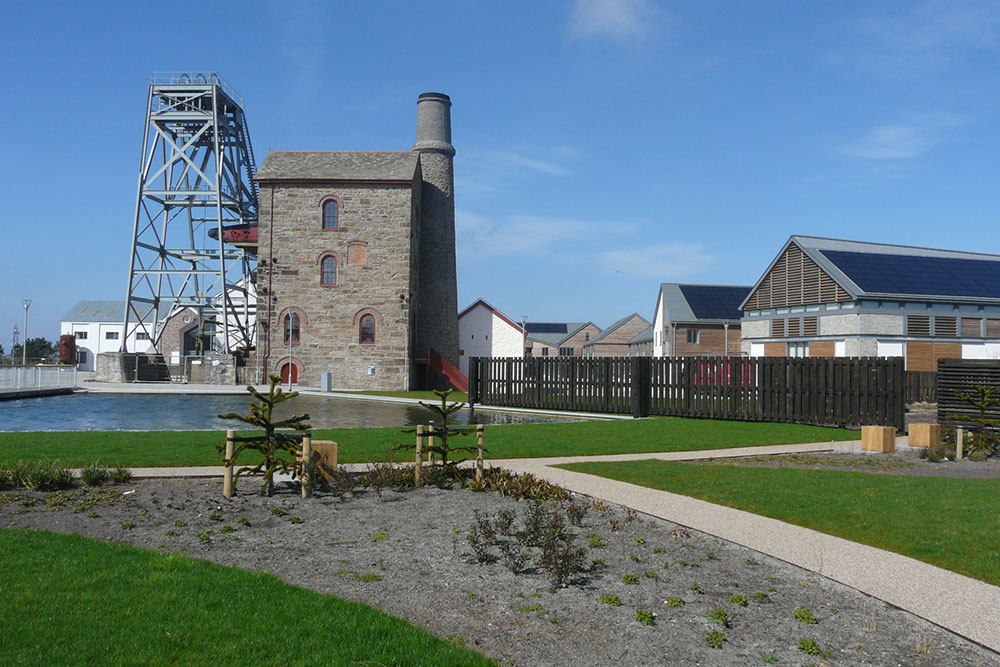 The Heartlands project Community led regeneration scheme in Cornwall's most derelict urban area
