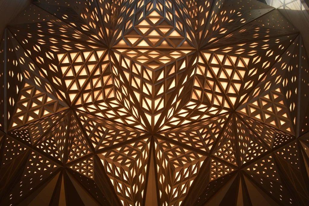 Lighting design inside Morpheus