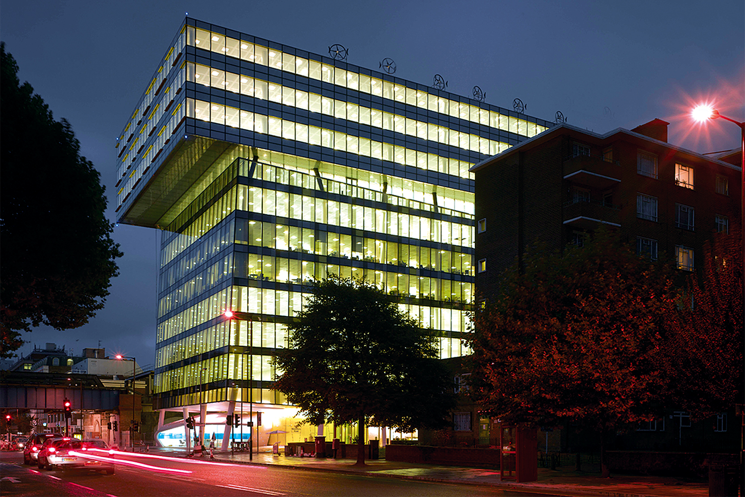 Palestra commercial office building high end london offices