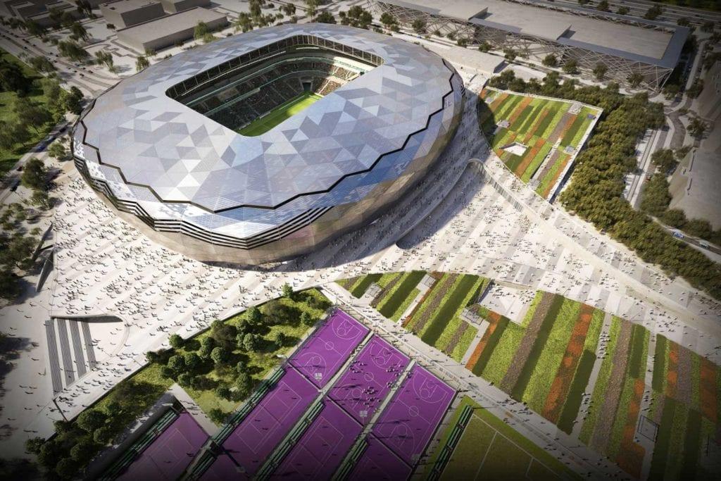 world cup stadium design quatar burohappold engineering
