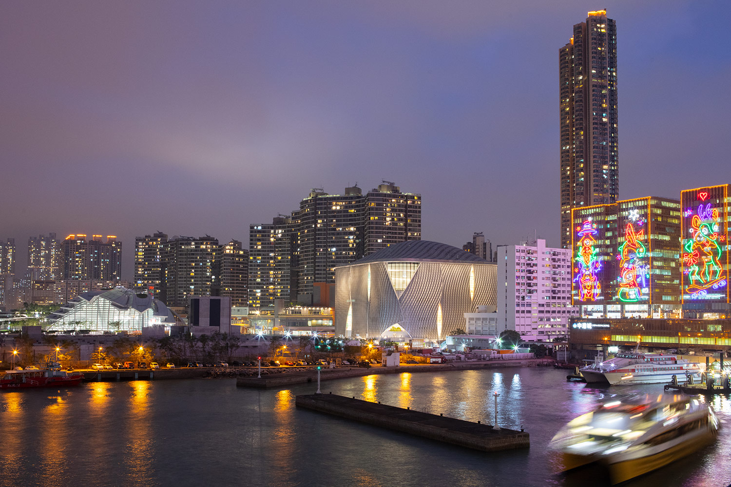 xiqu cultural centre hong kong West Kowloon Cultural District WKCD engineers facade design