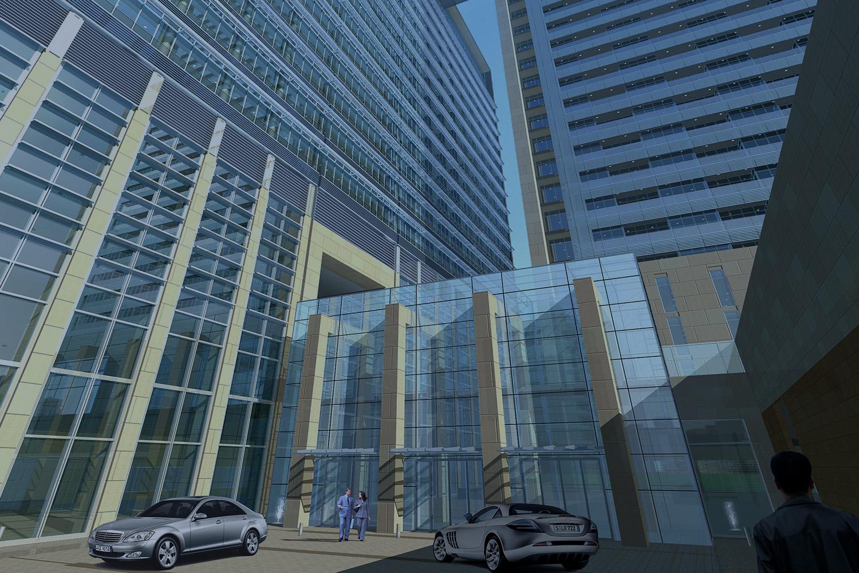 Buildings by Daman