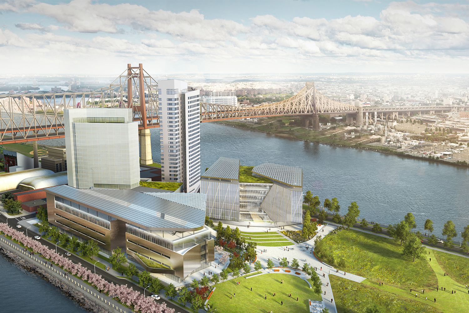 Cornell Tech's Passive House tower,