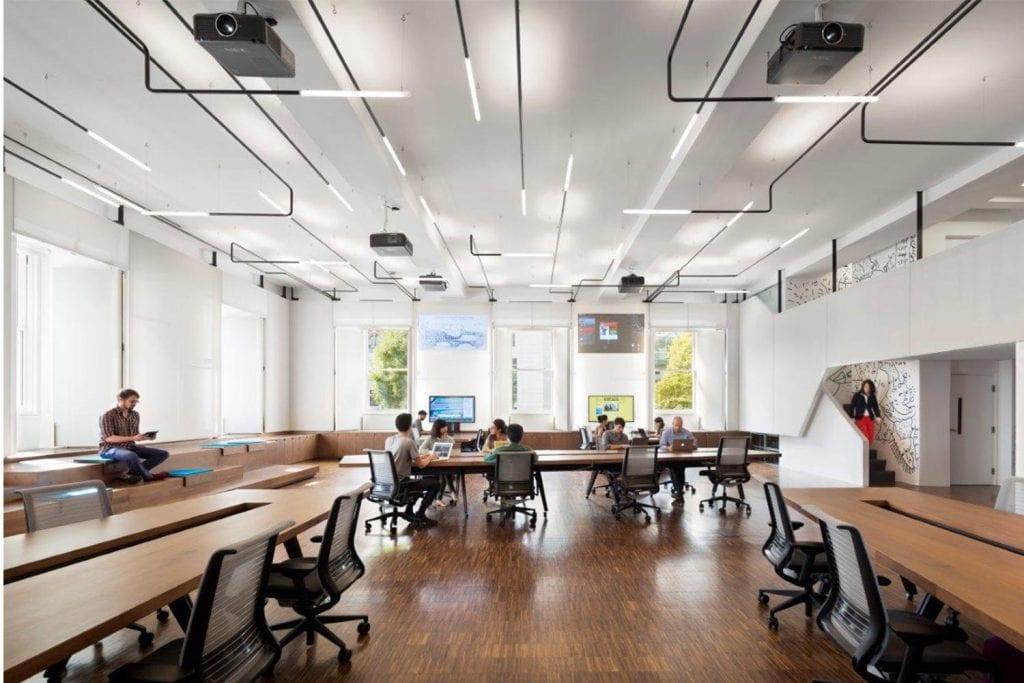 Brown university lighting design