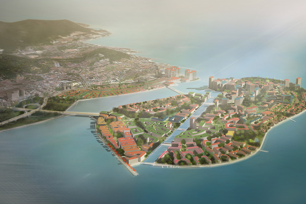 seri tanjung pinang phase 2 land reclamation burohappold