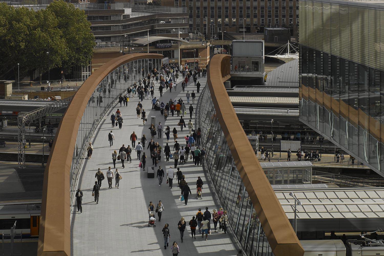 Stratford Town Centre Link bridge