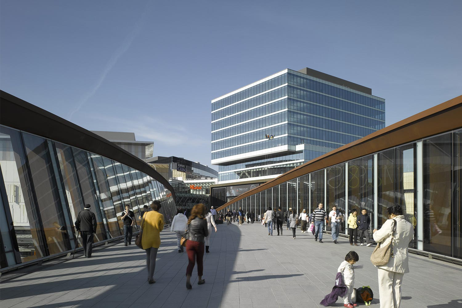 Stratford town centre link burohappold engineering for The stratford
