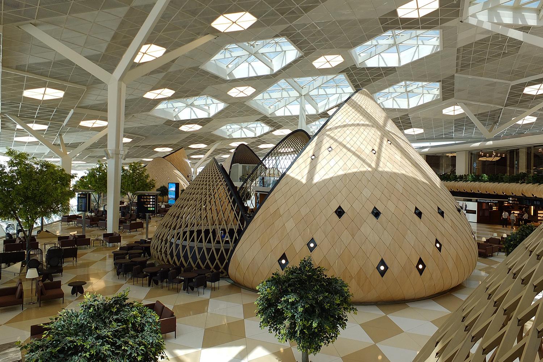 New Heydar airport design