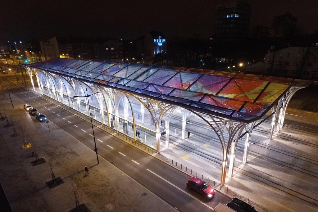 Piotrkowska Tram Station transit hub
