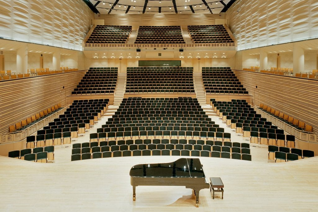 Performing Arts Center concert hall