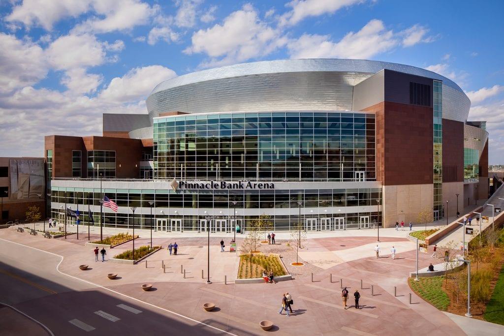 Pinnacle Bank Arena, sports center, concert arena