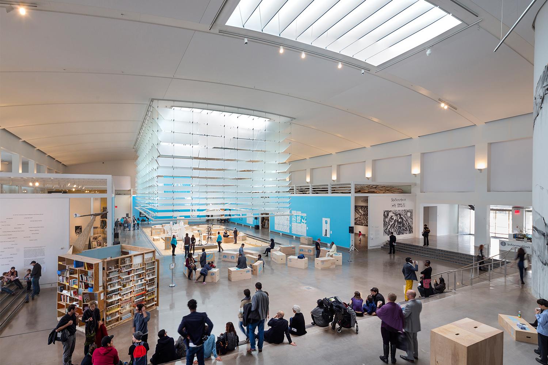 Queens Museum arts center centre new york usa