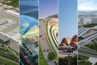 transportation hubs airport design rail interchange stations transport