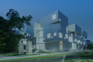 IOWA university of arts building, higher education buildings