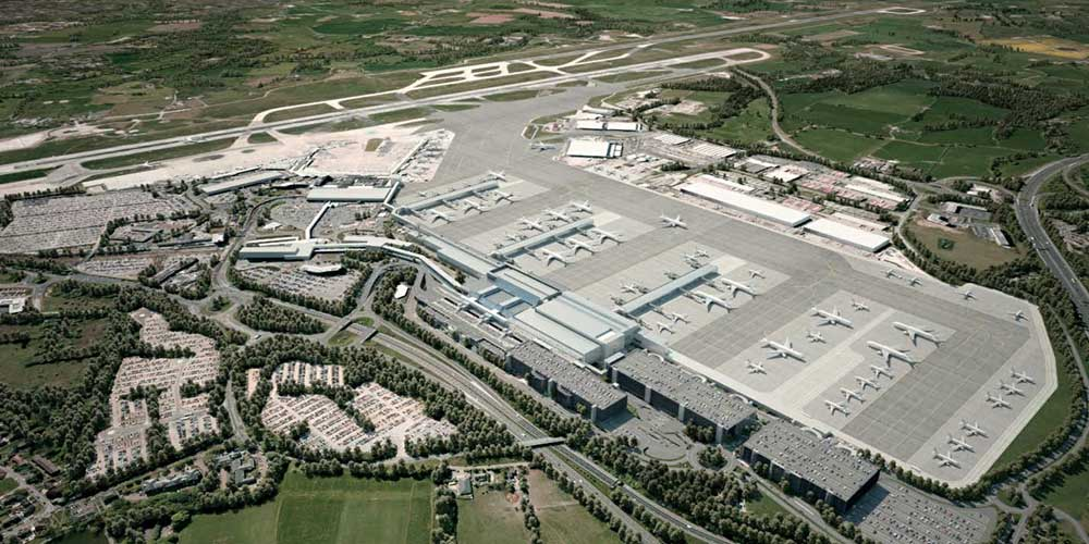 airport design manchester