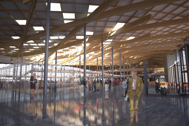 Oslo Gardermoen Airport design airport engineering