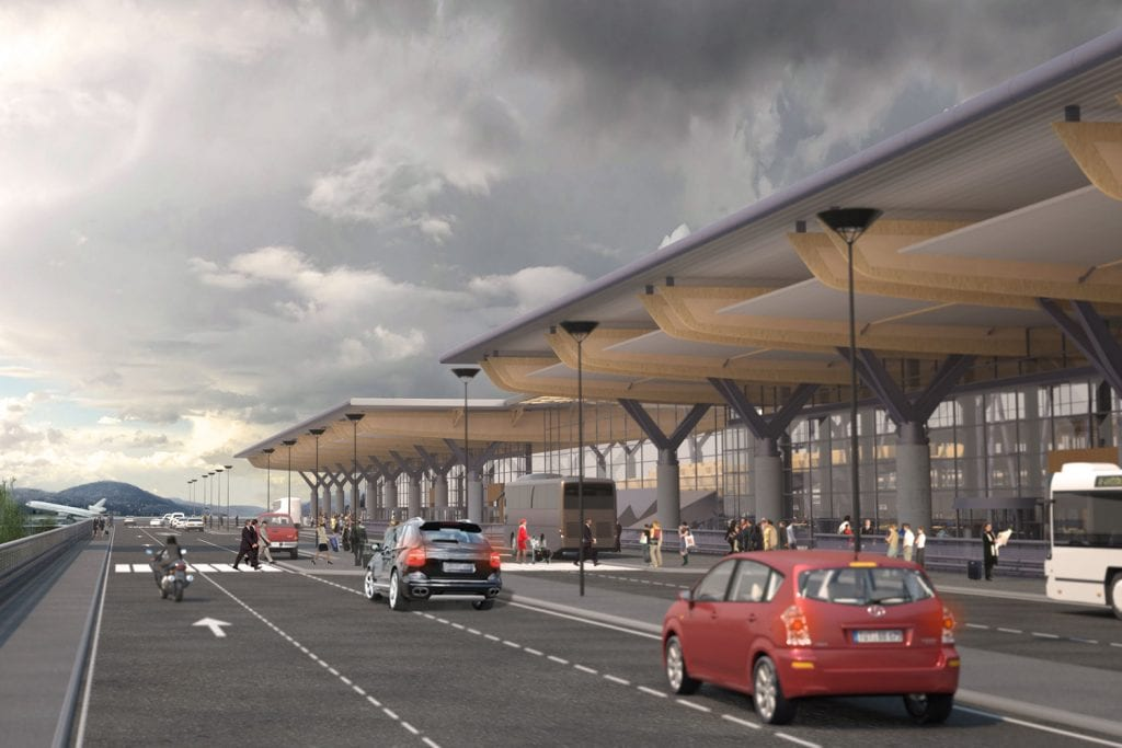 Oslo Gardermoen Airport design airport engineering