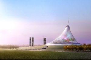 khan shatyr entertainment center kazakhstan tensile structures