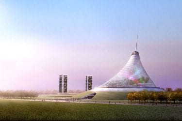 khan shatyr entertainment center kazakhstan tensile structures