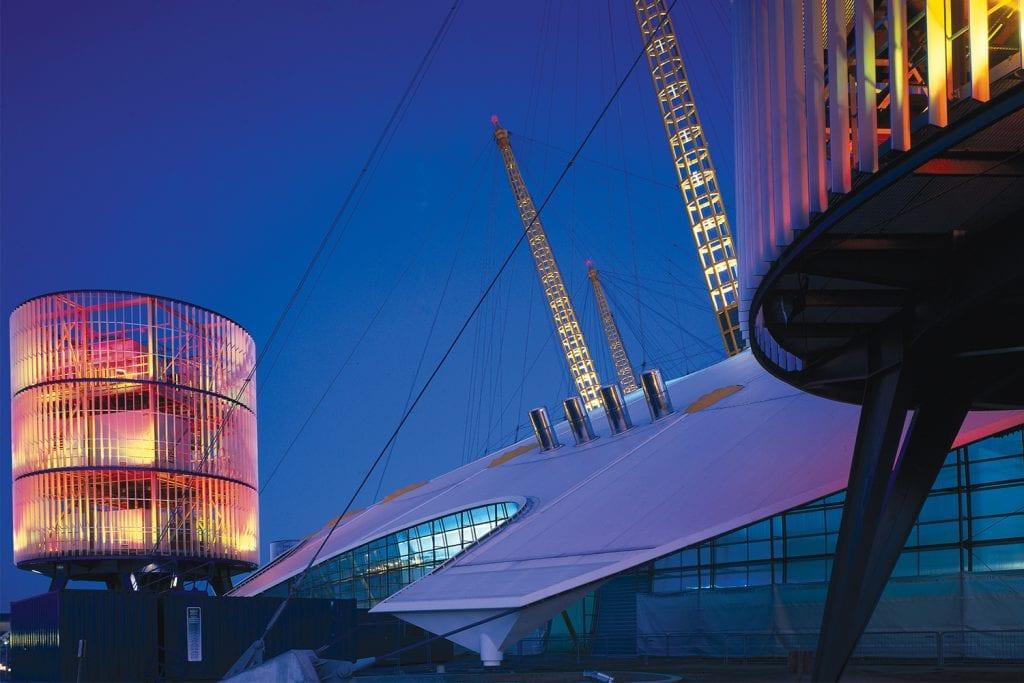 Millennium Dome tensile structure