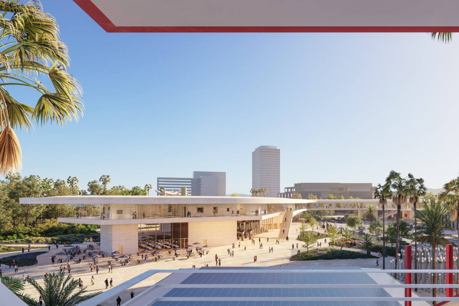 LACMA Building for the Permanent Collection