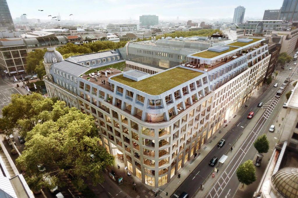 Kö-Quartier transformed into a first class business district