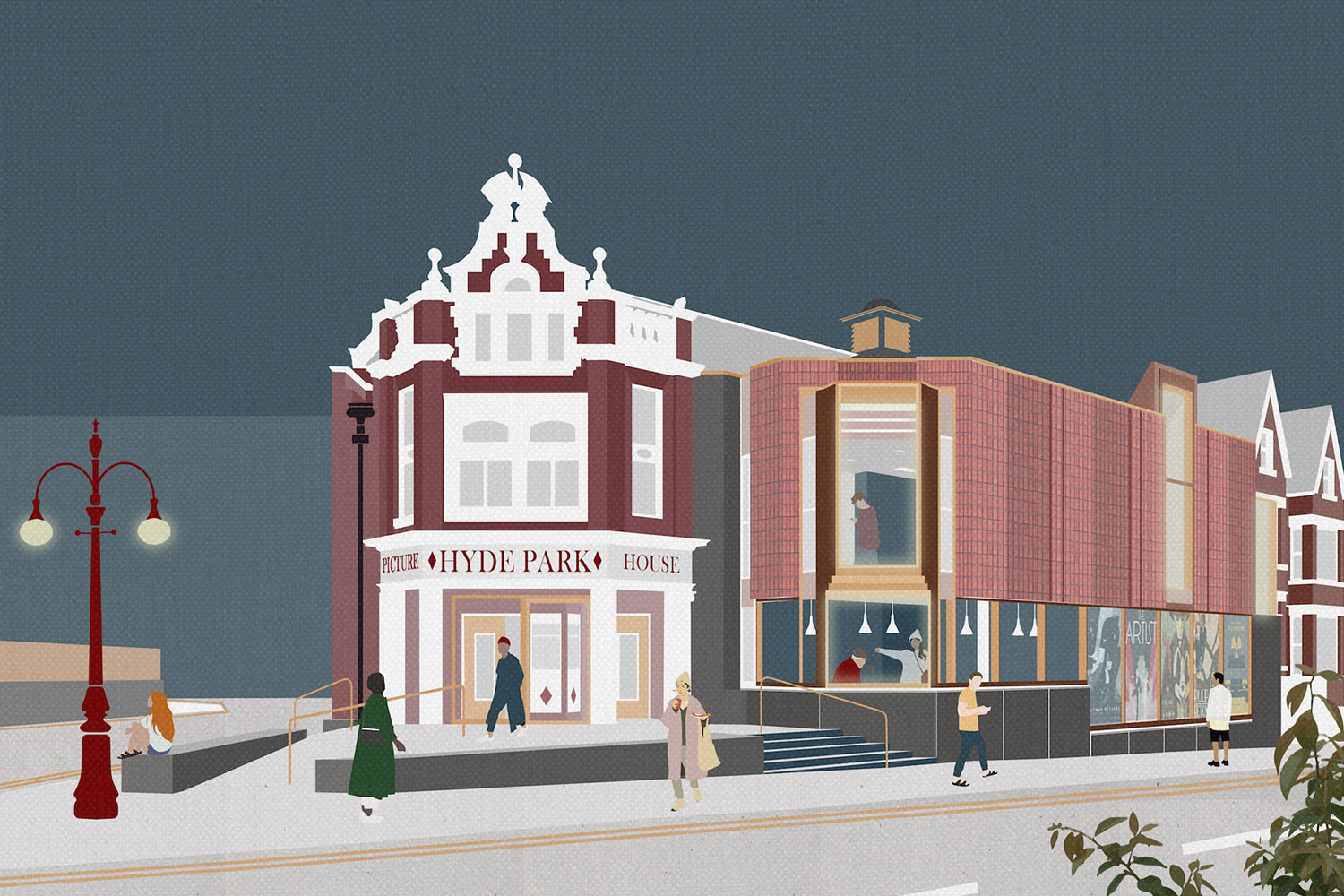 hyde park picture house redevelopment project leeds HPPH burohappold