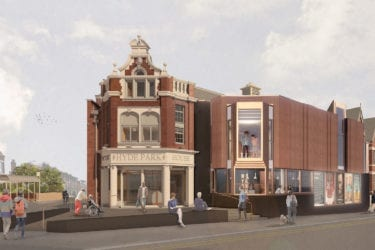 hyde park picture house redevelopment rendering visual