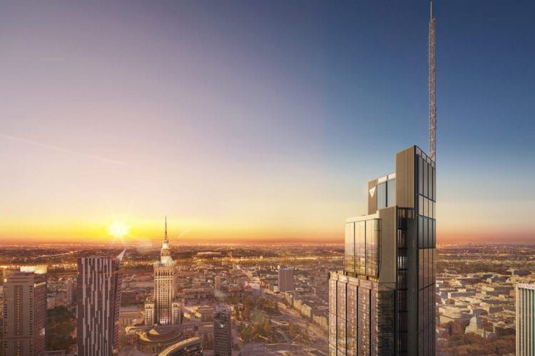 Varso tower office warsaw poland commercial headquarters