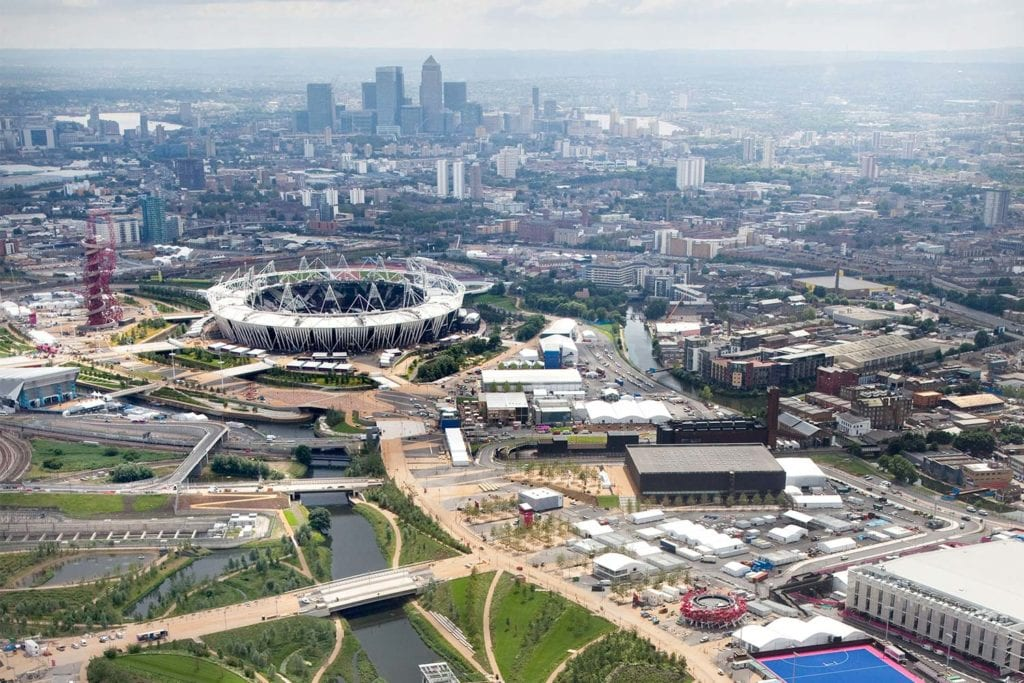 London 2012 Olympics masterplanning