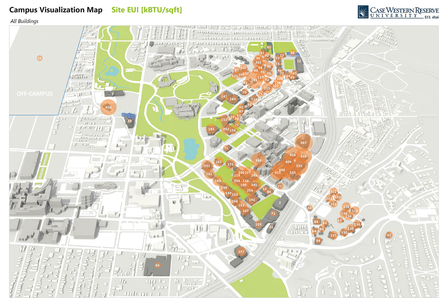 case western reserve university campus map Case Western Reserve University Energy Improvement Plan Buro Happold case western reserve university campus map