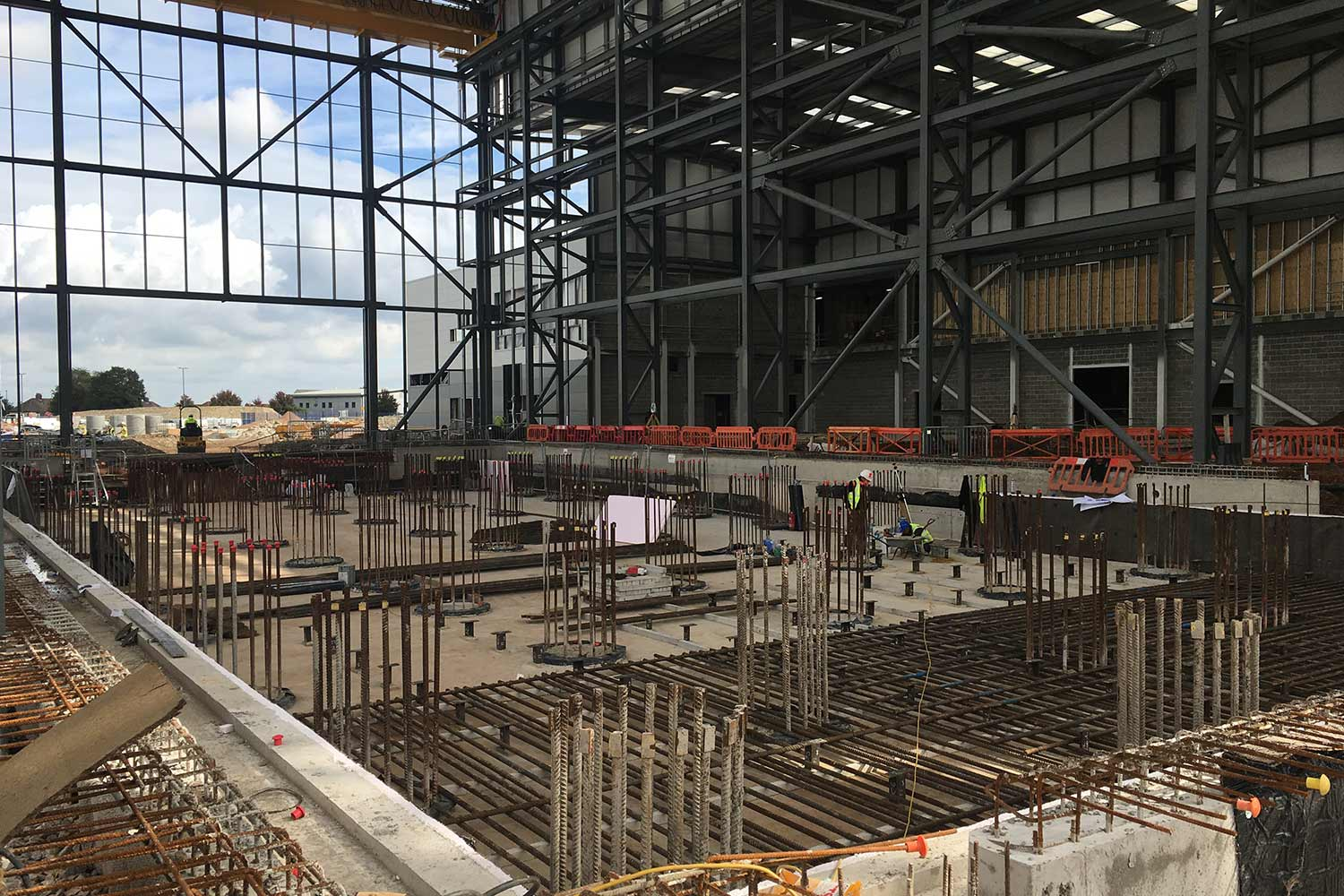 Strong floor foundations for Airbus expansion