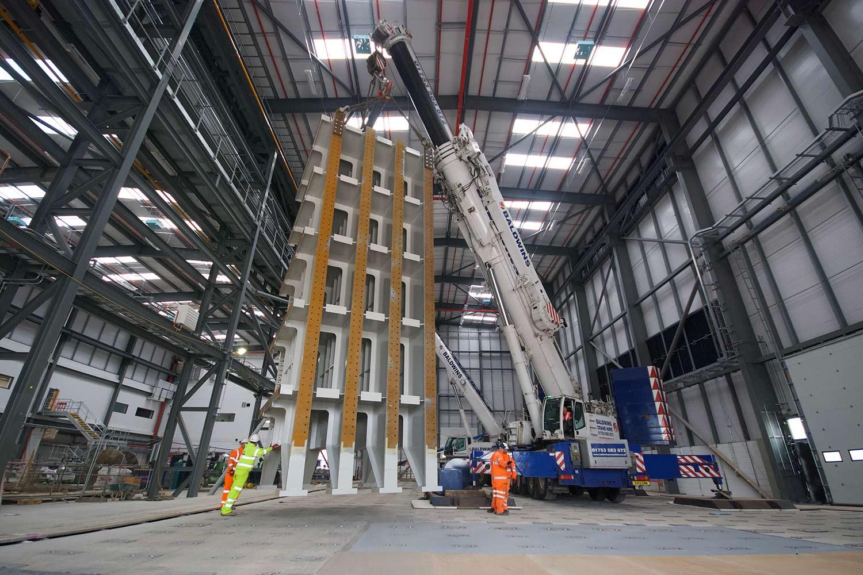 Interior view of Airbus expansion, Bristol