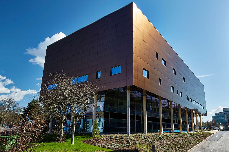Exterior shot Southampton Centre for Cancer Immunology