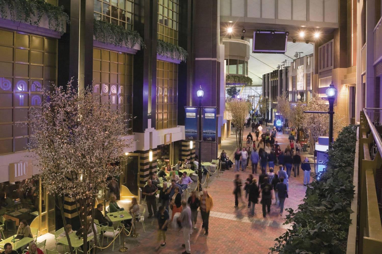 New shopping village at former Millenium exhibition centre