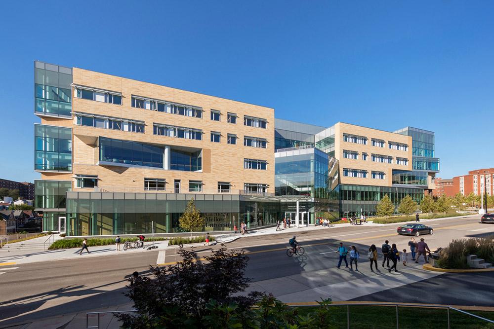 Facade of Tepper School of Business