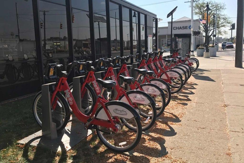 Rent-a-bike scheme at Detroit Eastern Market