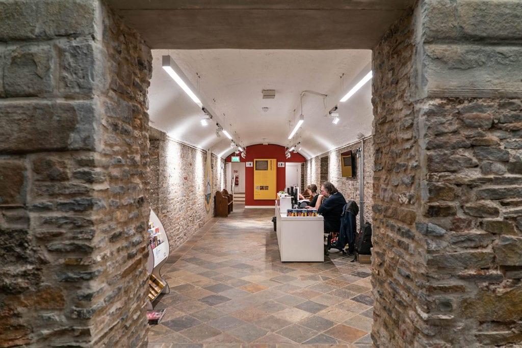 st george's bristol interior shot through doorway