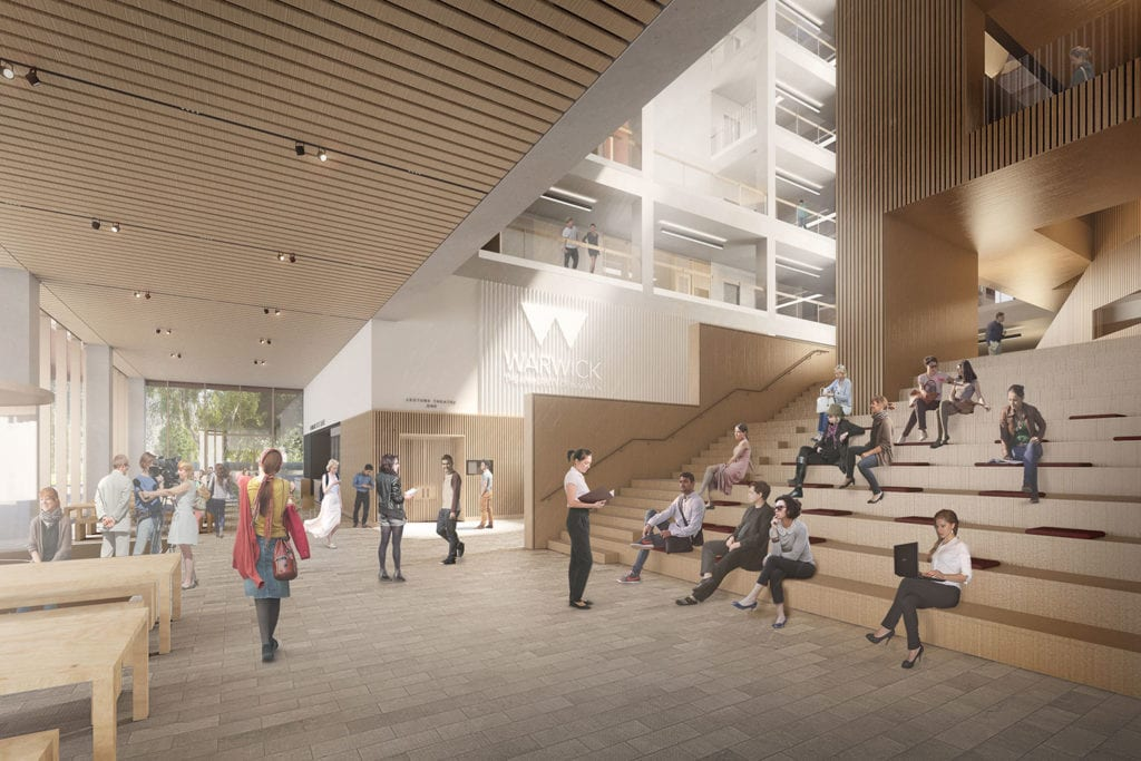 Warwick Faculty of Arts interior render