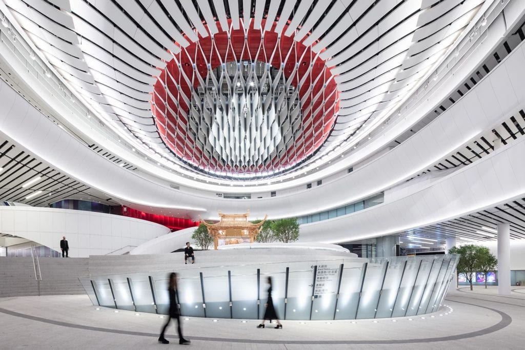 interior area of xiqu cultural centre WKCD
