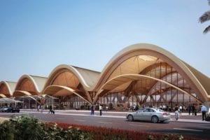 Libreville Airport, Gabon. Image: HOK