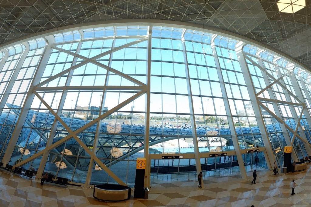New Heydar Aliyev International Airport, Baku, Azerbaijan.