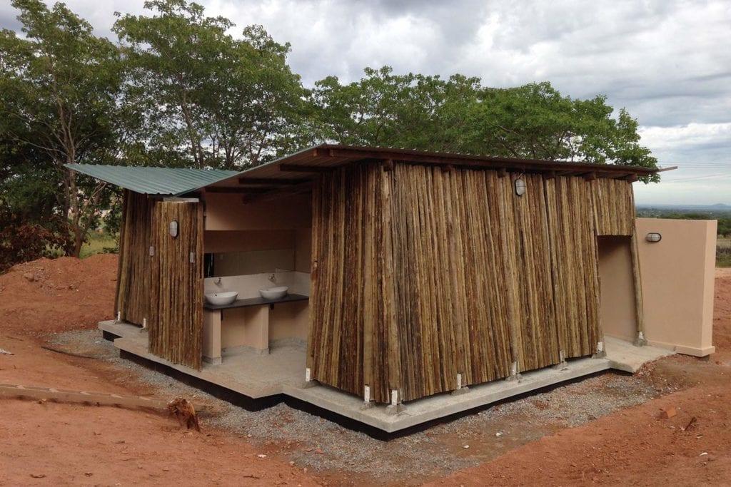 Ecological sanitary blocks