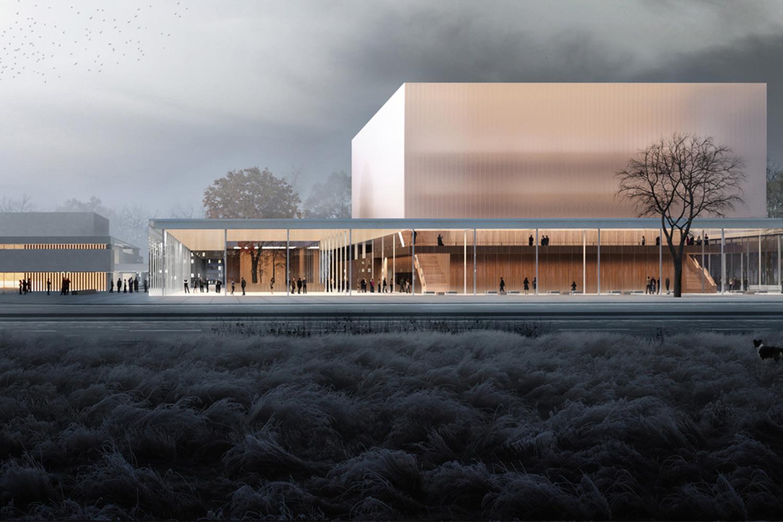 Exterior view of Nurnberg Concert Hall